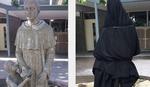 Šta to svetac drži u ruci i nudi dečaku? Škola u Australiji prekrila NEPRIKLADNU KATOLIČKU STATUU (FOTO)