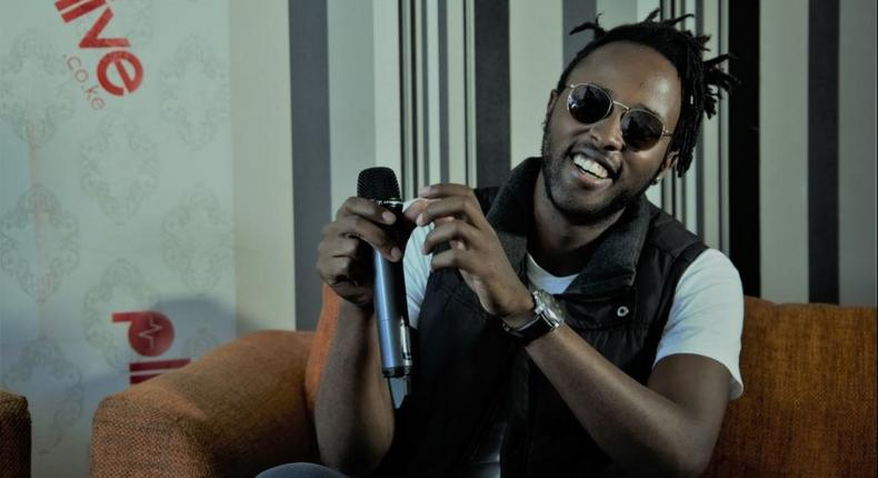 Kagwe Mungai has collaborated with various artists such as Fena Gitu, Khaligraph and King Kaka.