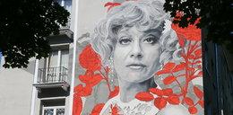 Kolejny piękny mural w Warszawie! Tym razem przedstawia słynną aktorkę