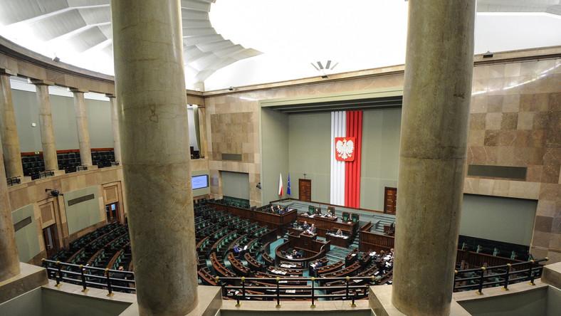 Sala obrad Sejmu