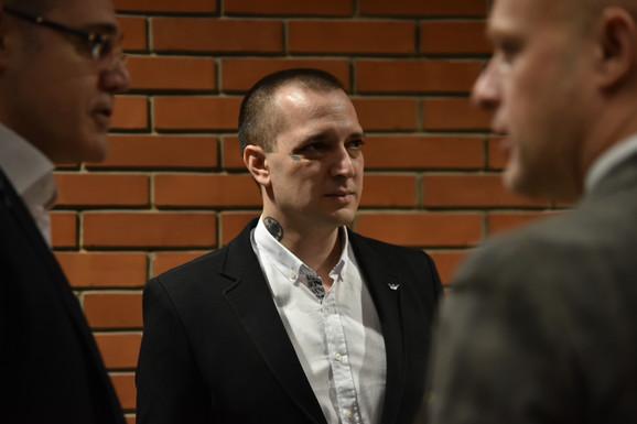 Marjanović je u sud došao sa sinom i bratom