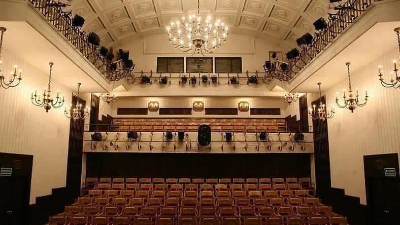 Wnętrze Warszawskiej Opery Kameralnej