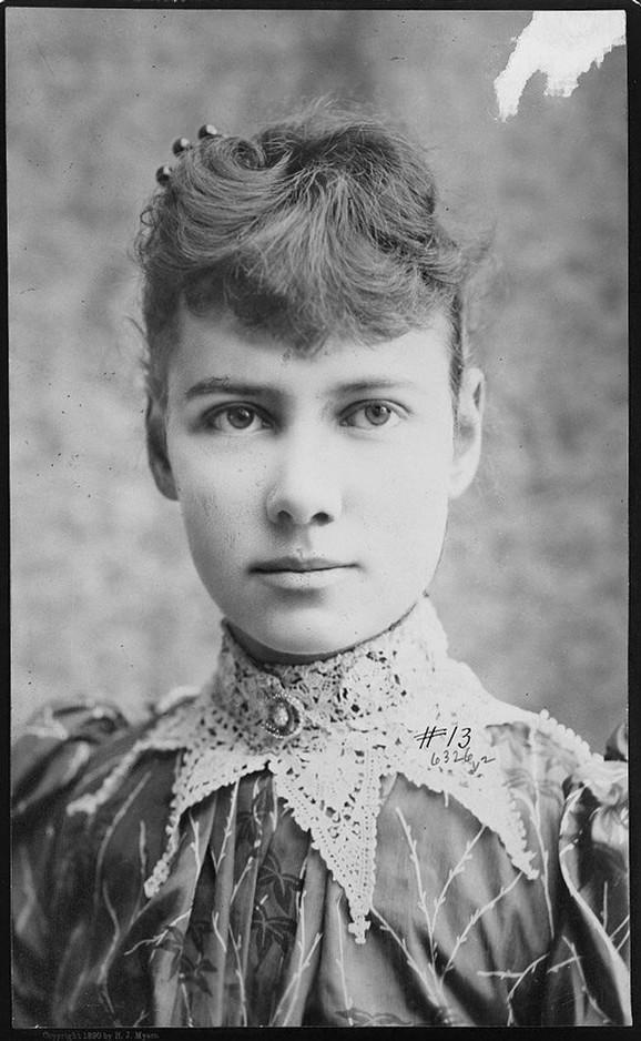 Elizabet Kokrejn (psudonim Neli Blaj), oko 1890. (FOTO: Library of Congress)