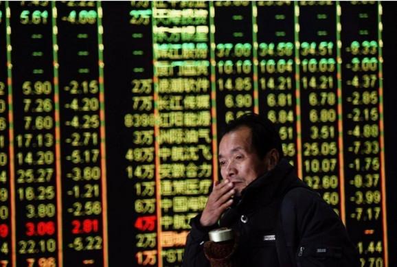 Uzdrmana i kineska berza