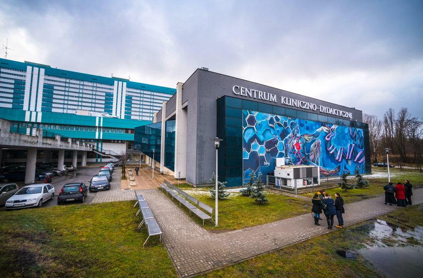 Nowy mural na Pomorskiej na budynku CKD w Łodzi