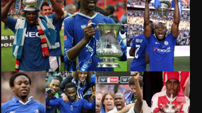 Wilfred Ndidi and Kelechi Iheanacho are the latest Nigerian players to win the FA Cup, but who are the others?
