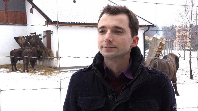 Marcin Boćkowski z Dzikiej Zagrody