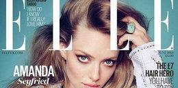 """Śliczna Amanda Seyfried na okładce """"ELLE"""""""