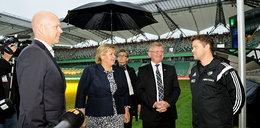 Premier Norwegii odwiedziła Legię
