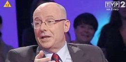 Zobacz, kto siedział za plecami kandydata PiS!