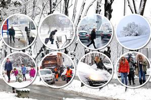 PROLEĆE U JANUARU, ZIMA U MARTU Za Božić smo imali visibabe, a jutros je Srbija osvanula BELA OD SNEGA