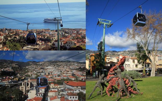 Kolejka na Monte, Funchal