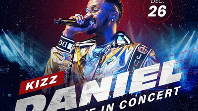 Davido, Tiwa Savage, Falz, others join Kizz Daniel for the No Bad Songz Concert on Boxing Day