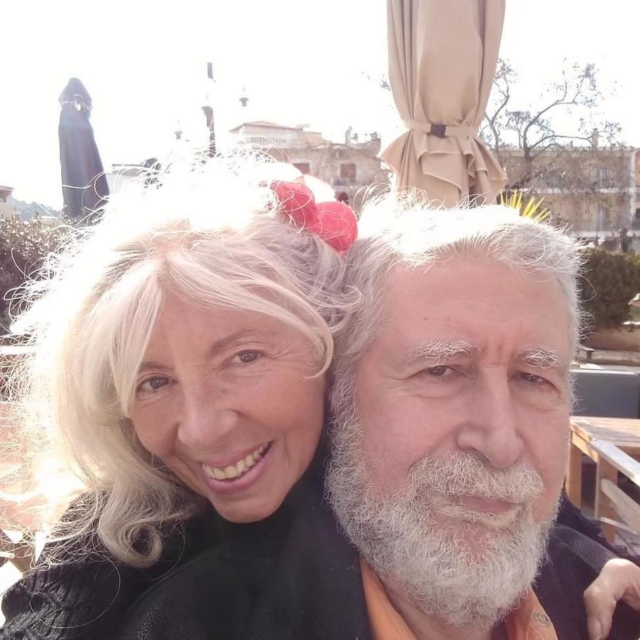 Maja Volk sa suprugom