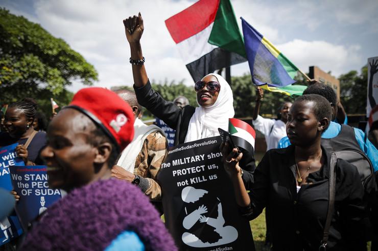 Sudan protest EPA - DAI KUROKAWA