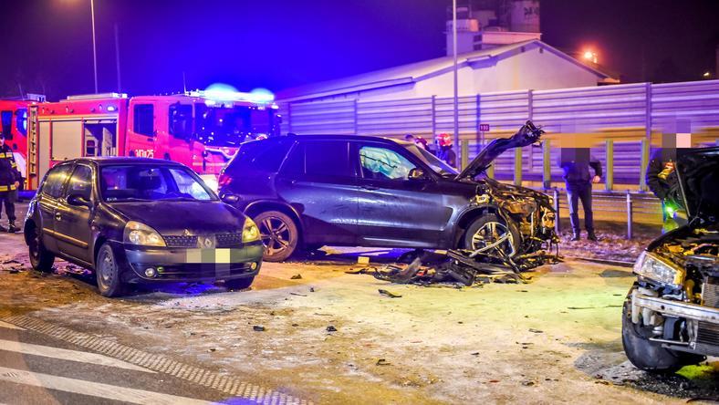 Wypadek z udziałem szefa MON Antoniego Macierewicza