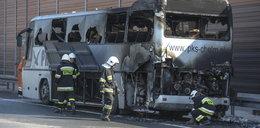 Autokar z dziećmi zapalił sięna autostradzie!
