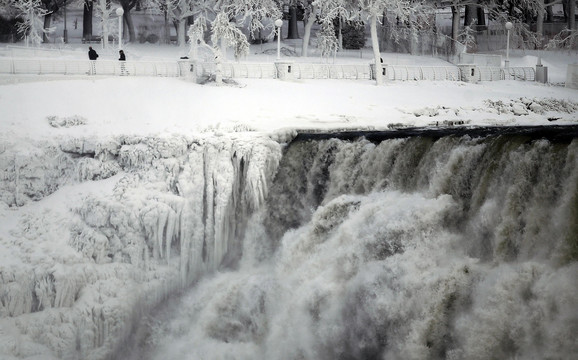 Ovo nije prvi put da se Nijagarini vodopadi