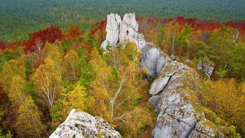 Góra Kołoczek, Rezerwat Góra Zborów, Skały Kroczyckie