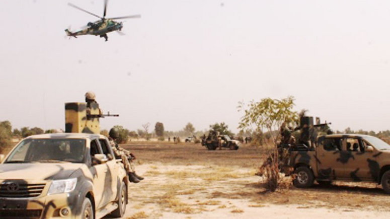 Image result for NAF Air strikes kill ISWAP fighters, destroy terrorist HQ