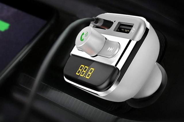 Bluetooth FM transmiter za