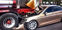 Oni cudem przeżyli wypadek samochodowy