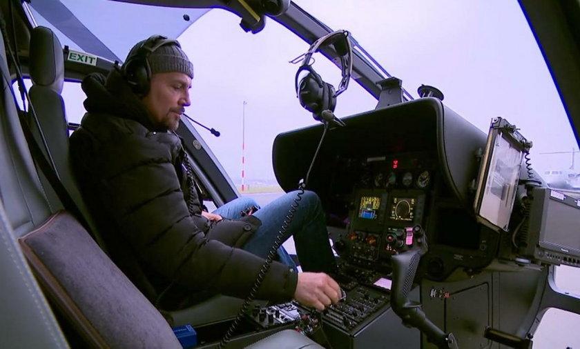 Krzysztof Ibisz będzie pilotować helikopter na Sylwestrze Polsatu 2020