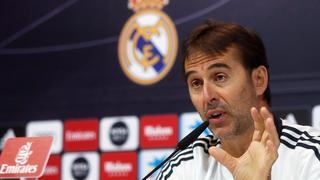 epa06986170 - SPAIN SOCCER PRIMERA DIVISION (Real Madrid's press conference)