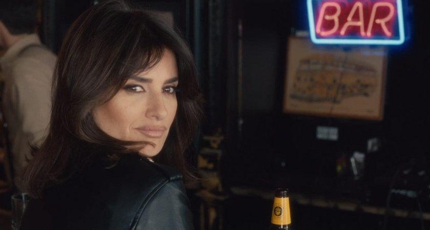 Penelope Cruz w reklamie piwa mów po polsku