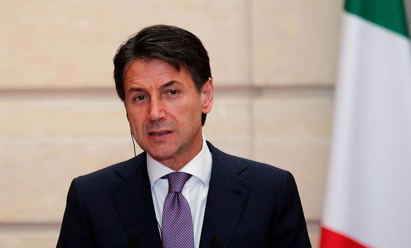 Premier Włoch ogłosił zamknięcie zakładów pracy