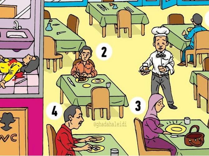 Samo 2 odsto ljudi ume da reši ovu MOZGALICU: Među ovih četvoro ljudi krije se UBICA, možete li vi da ga pronađete?