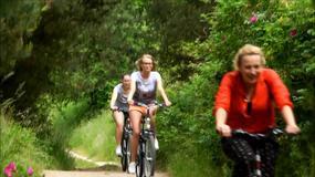 Turystyczna Jazda - Pociągiem do Olsztyna, a rowerem po Olsztynie