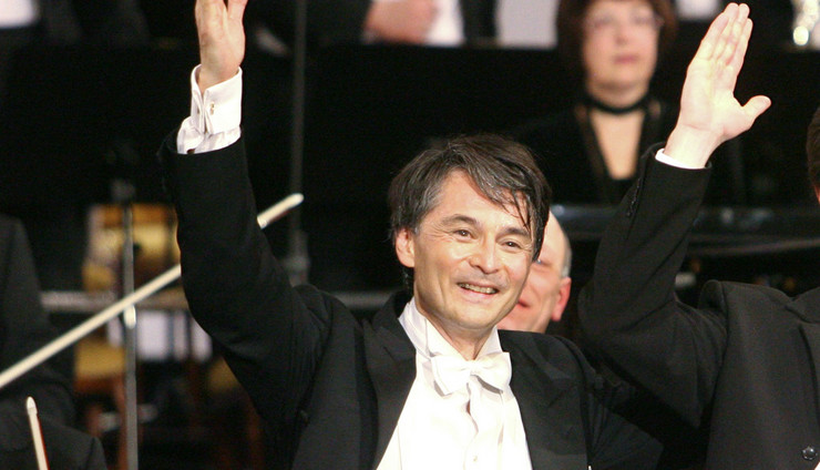 Dirigent Jun Merkel