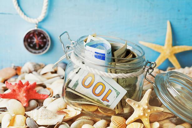 morze, wakacje, turystyka, pieniądze, napiwki