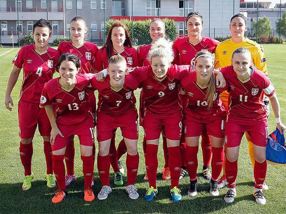 Ženska fudbalska reprezentacija Srbije