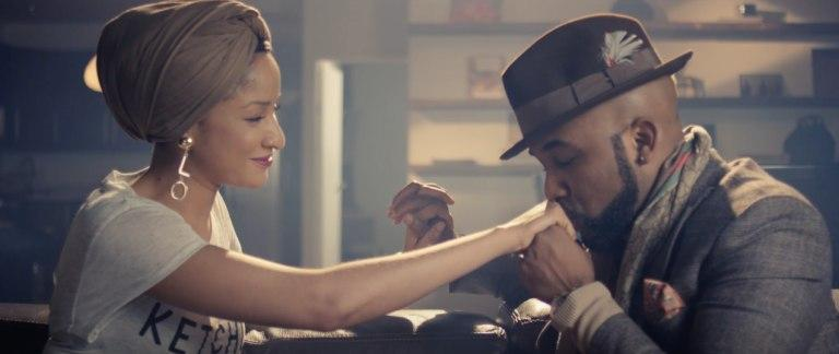 Banky W and Adesua Etomi in 'Made for you'