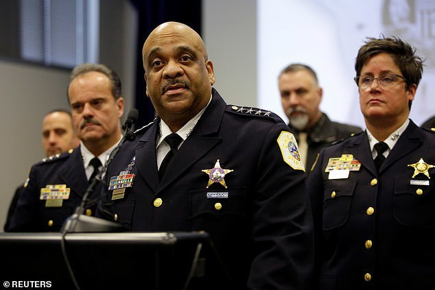 A Chicago Police Superintendent Eddie Johnson was not impressed with Jussie Smollett's alleged staged attack. [Reuters]