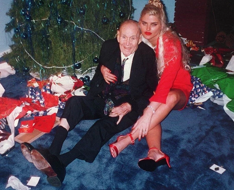 James Howard Marshall II i Anna Nicole Smith