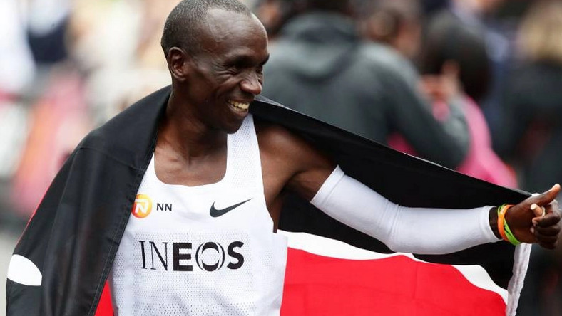 Uhuru, Raila and DP Ruto react to Eliud Kipchoge's spectacular performance at the INEOS challenge [