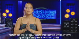 "Jennifer Lopez zaprasza do ""World of Dance Polska"""