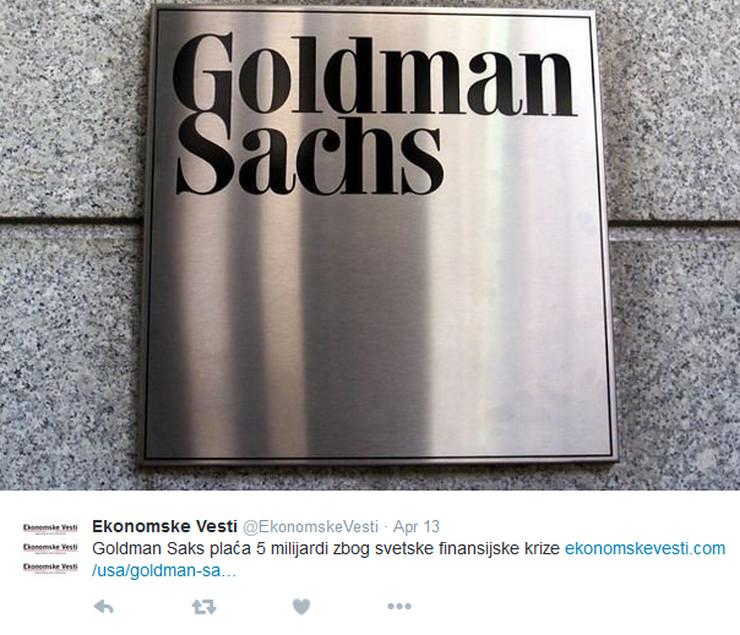goldman saks