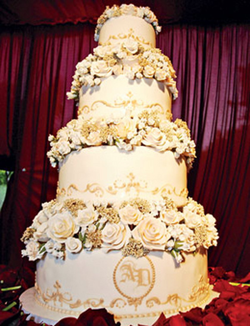 Tort ślubny Avril Lavigne i Derycka Whibleya
