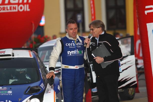 Michał Sołowow jest nie tylko inwestorem ale i zapalonym rajdowcem samochodowym.