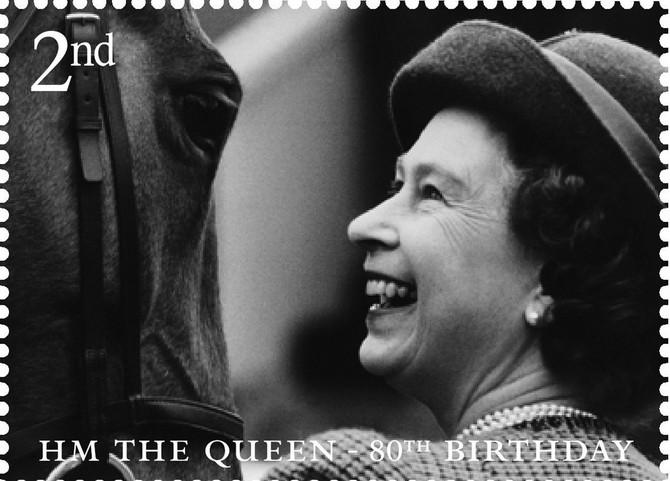 Njne lik krasi poštanske marke u Velikoj Britaniji