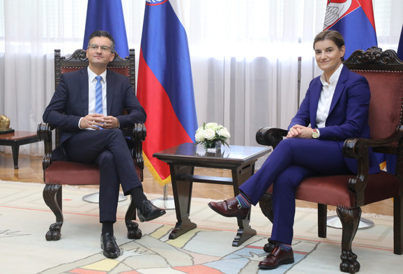 Marjan Šarec i Ana Brnabić,