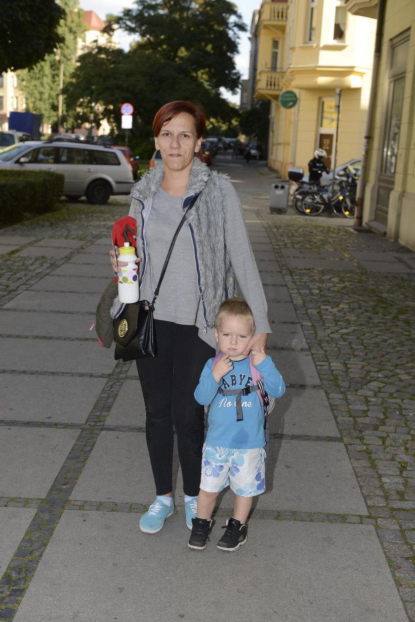 Iwona Poczesna (32 l.), mieszkanka Śródmieścia