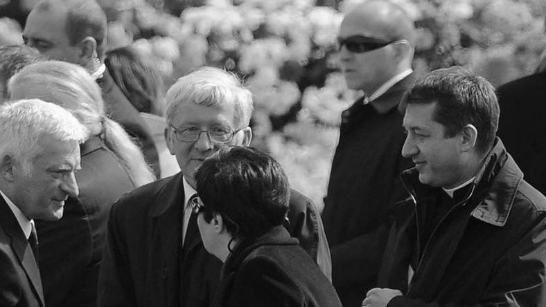 Marcinkiewicz incognito na ceremonii
