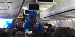 Pasażer samolotu zażartował, że ma ebolę