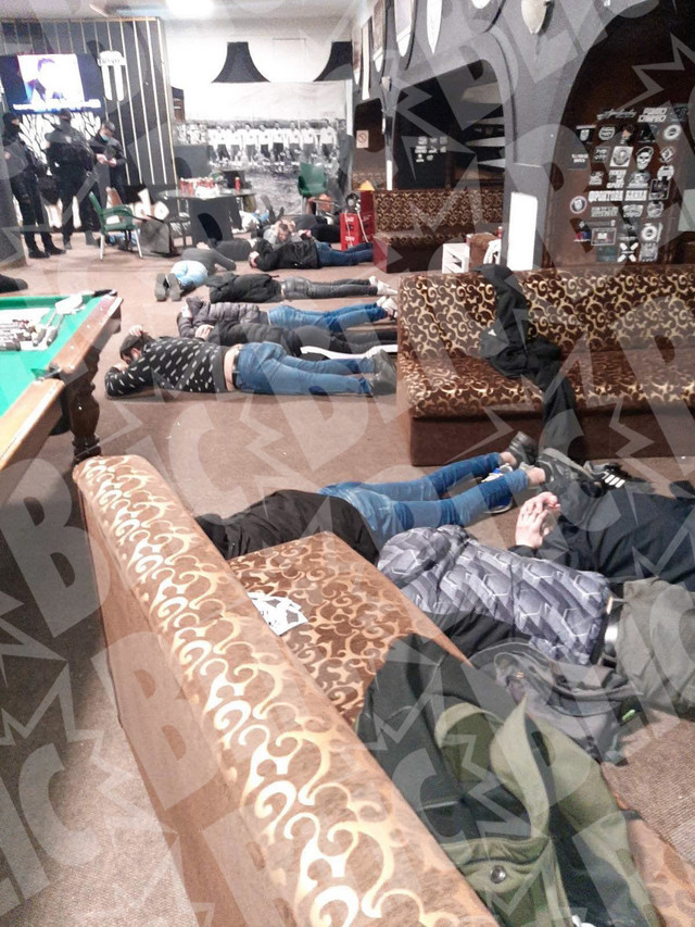 Hapšenje Belivukove grupe u šteku u Humskoj