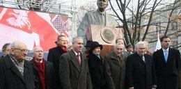 Niemiły zgrzyt na odsłonięciu pomnika Reagana